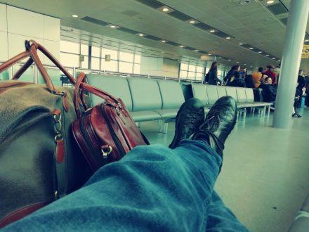 Marek Wojciechowski Londyn czekam na samolot